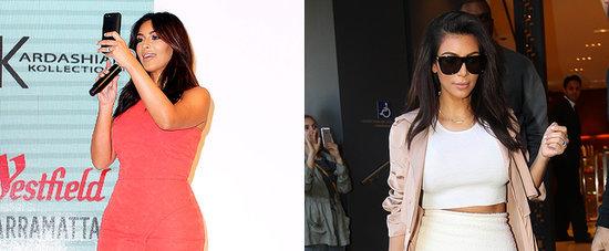 Kim Kardashian's Shopping Trip in Sydney Looks Like a Photo Shoot