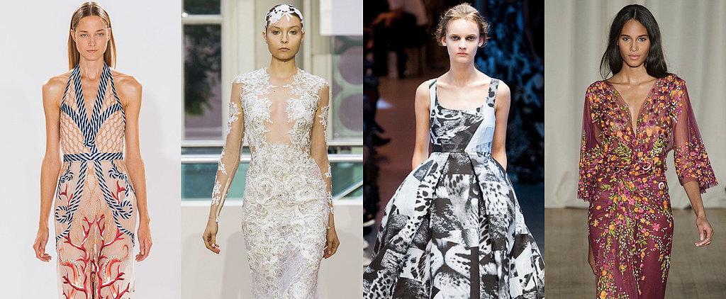 The Most Gorgeous Gowns From New York and London Fashion Week