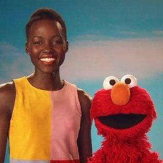 Lupita Nyong'o on Sesame Street
