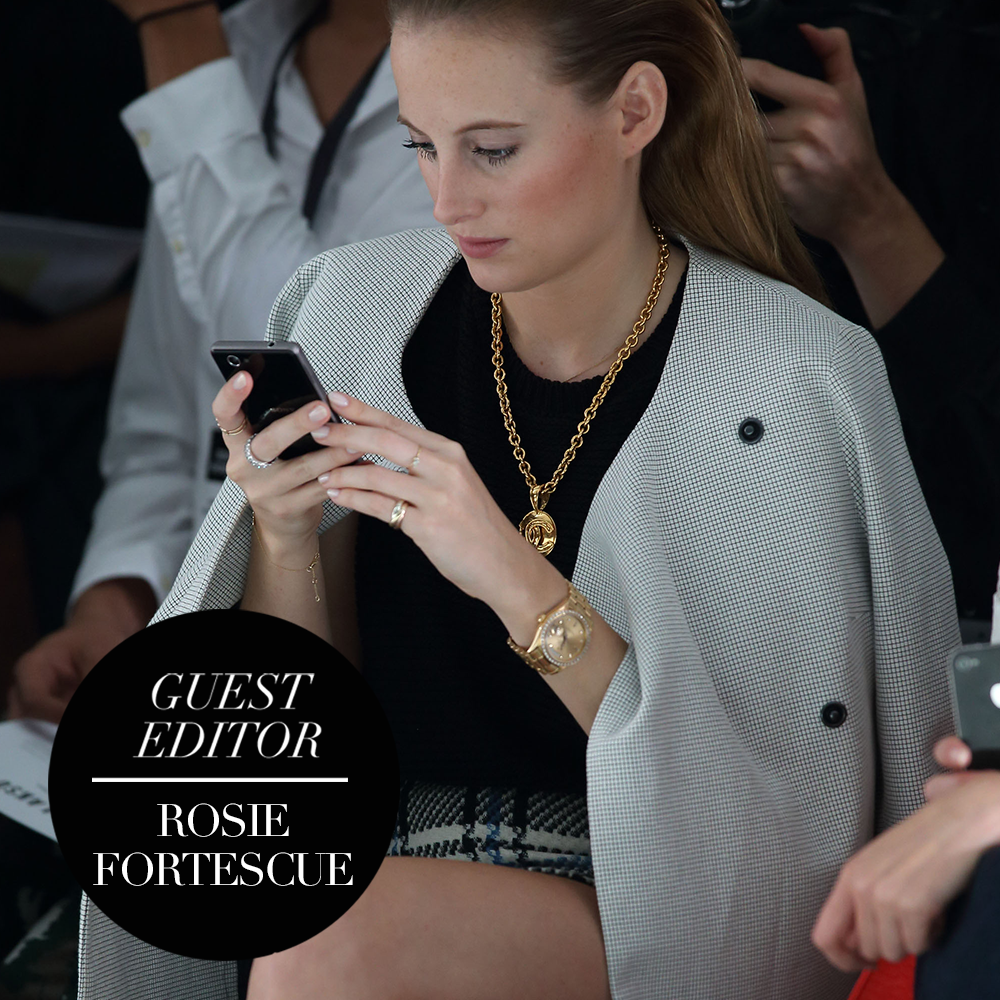 Guest Editor: Rosie Fortescue Die LFW-Essentials