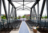 A Wedding on a Railroad Bridge? This Couple Did It!