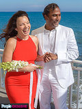 First Look: See Fran Drescher's Official Wedding Photo!