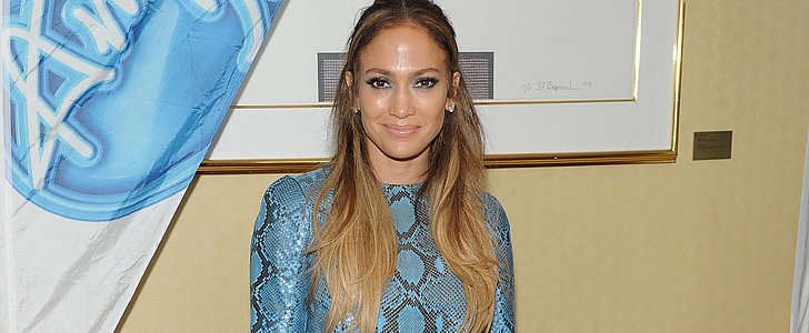 Did Jennifer Lopez Cut Up Her Dress to Make Accessories?