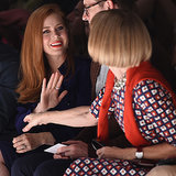Celebrities in the Front Row at Fashion Week Spring 2015
