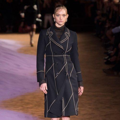 Prada's Purple Sand Had Nothing on Gemma Ward's Comeback