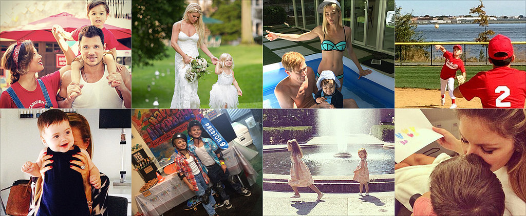 Jessica, Gisele, Britney, and More Shared the Sweetest Snaps of Their Tots This Week!