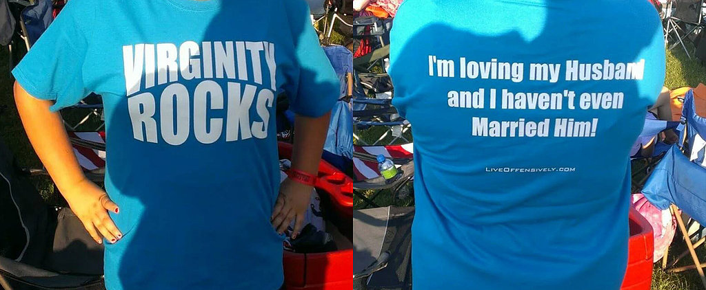 "Student Forced to Remove Her ""Virginity Rocks"" T-Shirt"