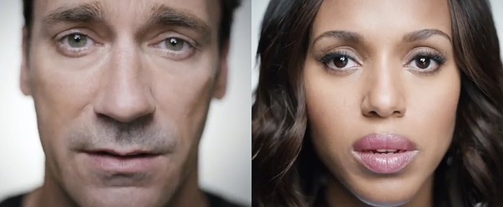 Jon Hamm, Kerry Washington, and More Stars Speak Out Against Sexual Assault