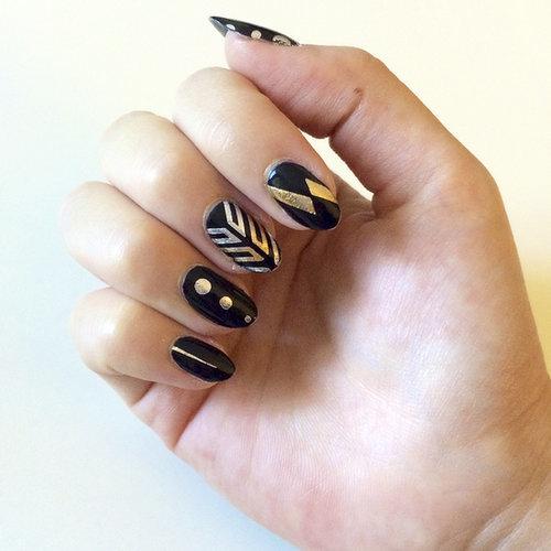 Flash Tattoo Nail Art DIY