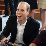le prince William parle de Kate et George
