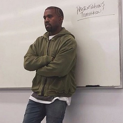 Kanye West Teaching at LA Community College | Pictures