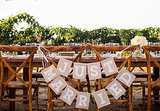 A Reception Dinner In The Grapevines -- See The Photos!