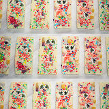 White Chocolate Bars With Pop Rocks
