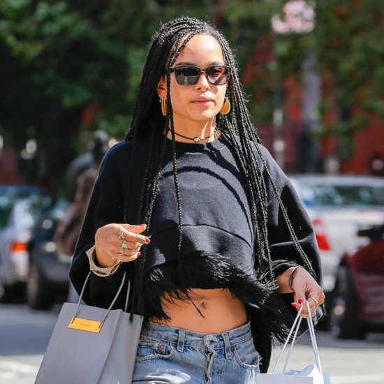 Zoe Kravitz's New Look Will Definitely Make You Do a Double Take