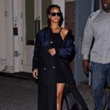 Rihanna's New Balance Sneakers Street Style