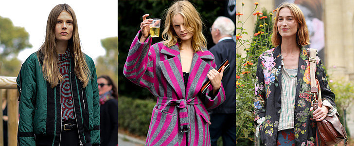 Cheers to the Models in Prints at Paris Fashion Week