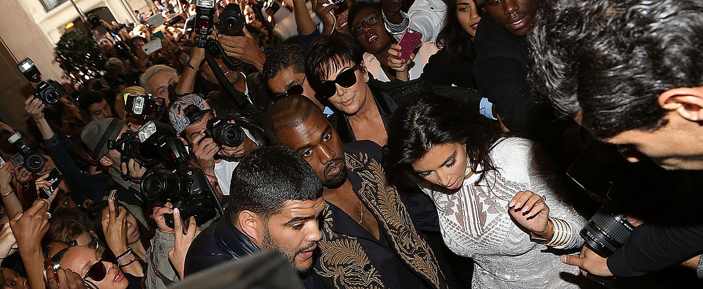 Kim Kardashian Gets Attacked by the Ukrainian Red Carpet Prankster