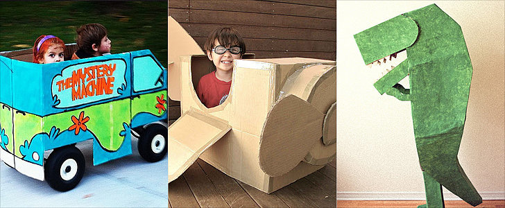 24 Halloween Costumes to Make From a Cardboard Box