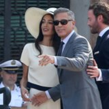 George Clooney and Amal Alamuddin After Wedding