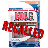 Kong Recalls Aussie Sticks Over Mold Concerns