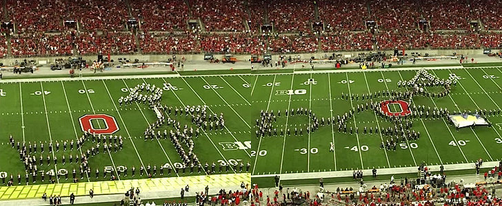 There's No Halftime Show Like the Ohio State Marching Band's Wizard of Oz Tribute