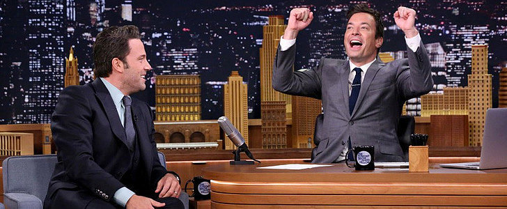"""Ben Affleck Tells Jimmy Fallon About His Gone Girl Marriage: """"The Masks Come Off"""""""