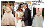 See George Clooney and Amal Alamuddin's First Wedding Photo (and Get Her Wedding Dress Look!)