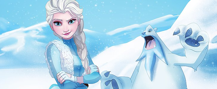 Frozen Meets Pokémon in These Gorgeous Illustrations
