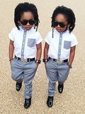 These Stylish Twins Are the Cutest Little Things We've Ever Seen