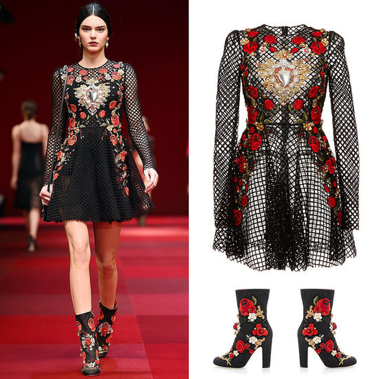 Kendall Jenner Dolce & Gabbana Fashion Week Outfit Online