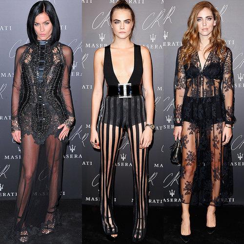 CR Fashion Book Party während der Modewoche in Paris