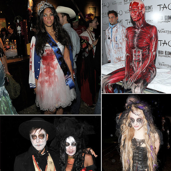 Crazy Celebrity Halloween Costumes | Pictures