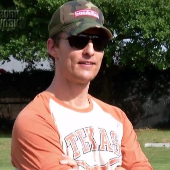 Matthew McConaughey's Texas Longhorns Speech | Video