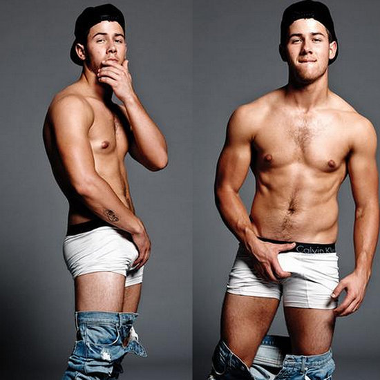 Nick Jonas Sexy And Shirtless Flaunt Magazine Photos