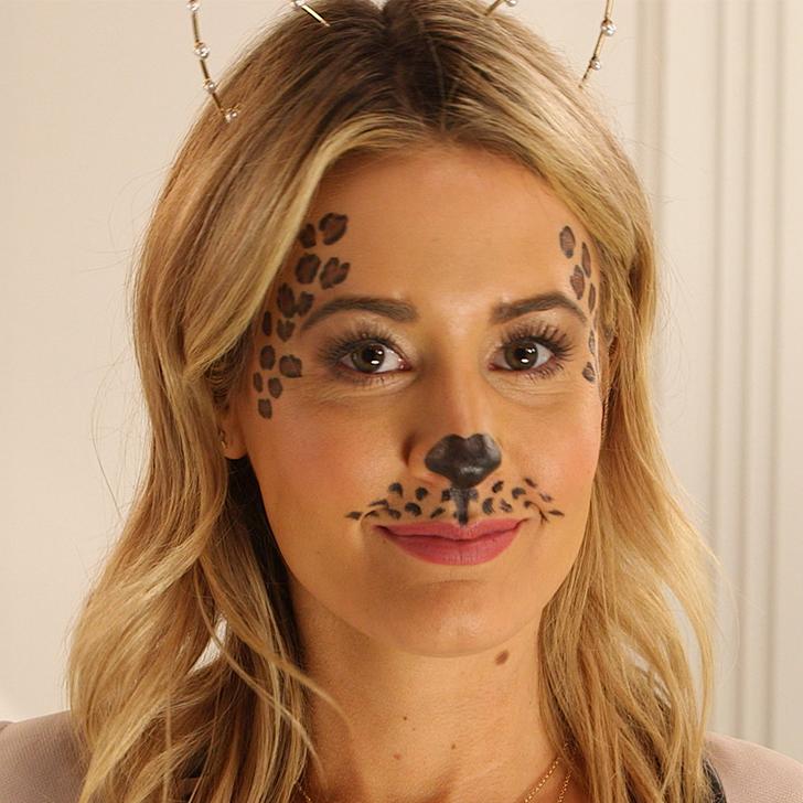 Leopard Print Makeup Tutorial Popsugar Beauty