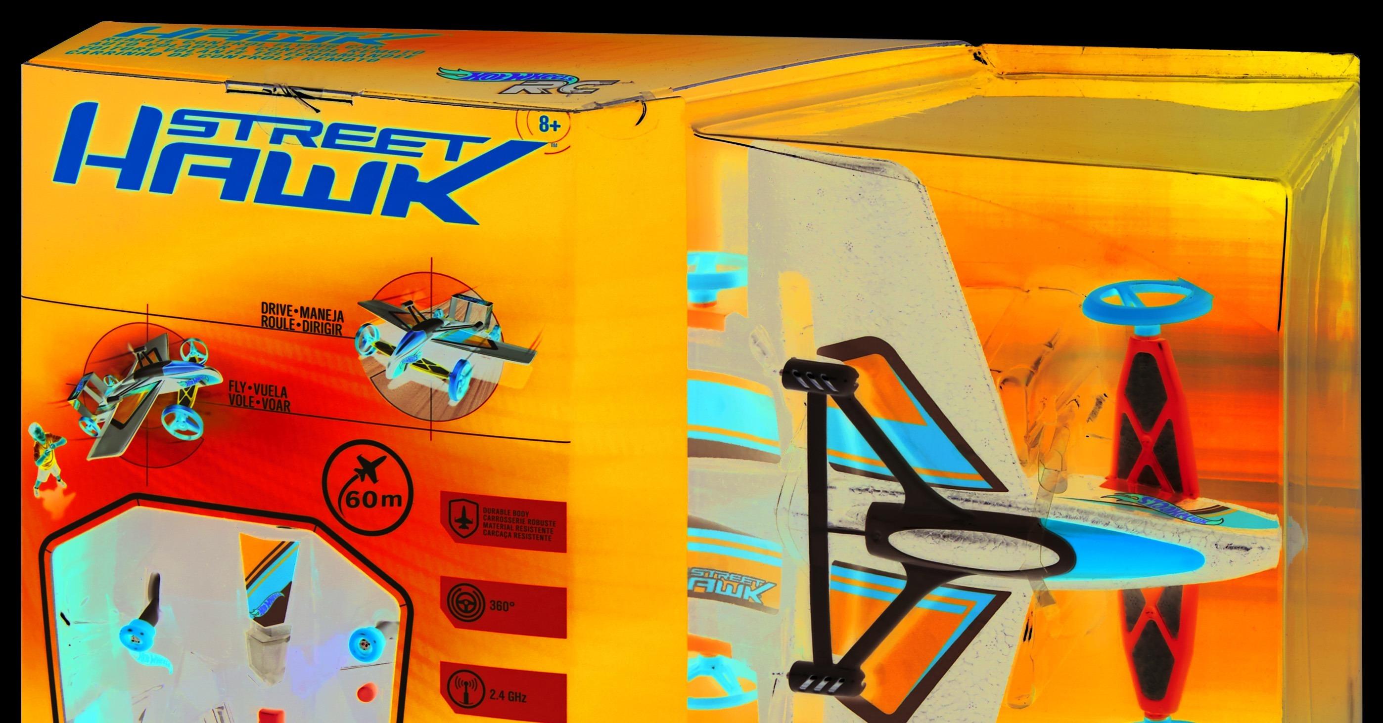 Hot Wheels Street Hawk Remote Control Flying Car Uk