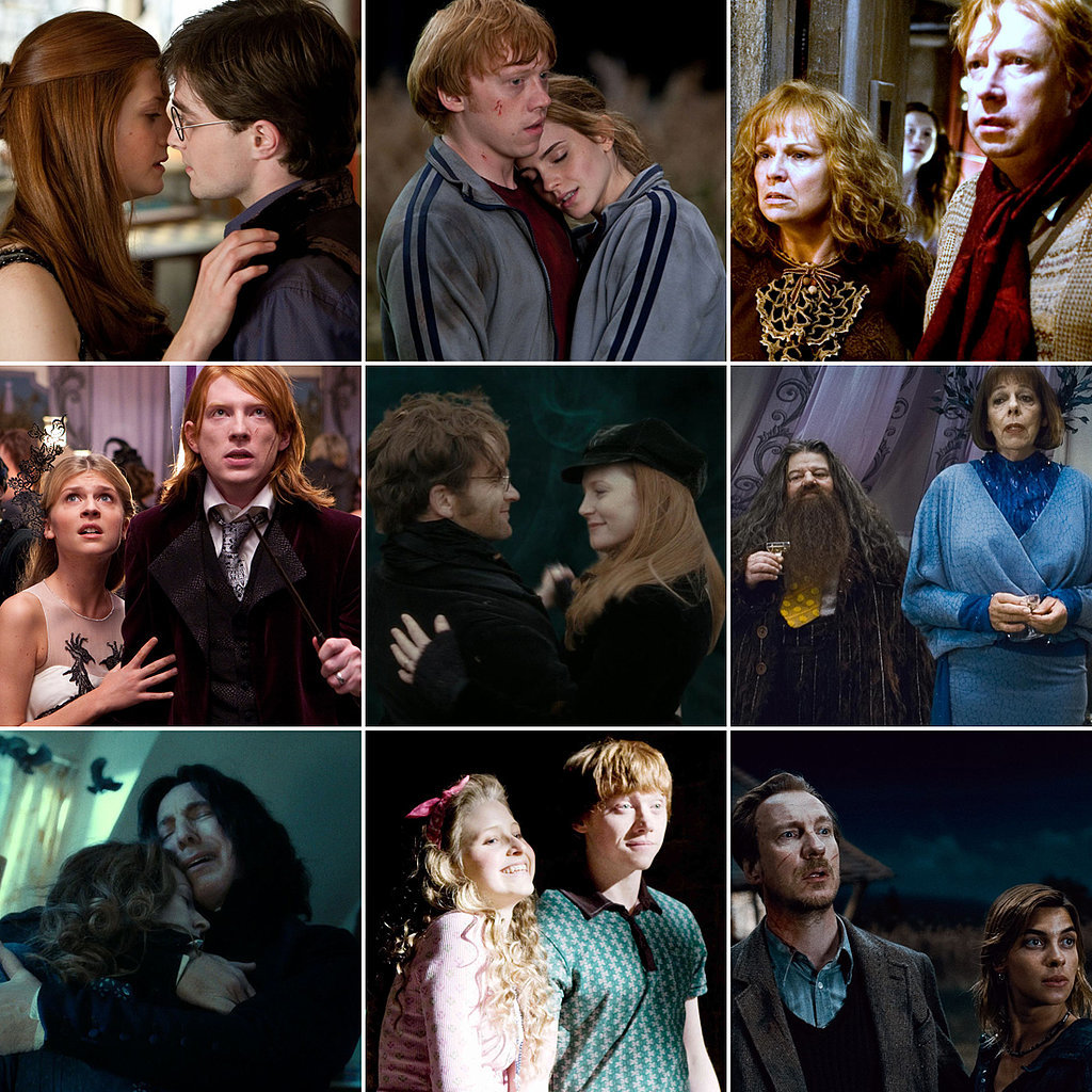 games quest married couples harry potter