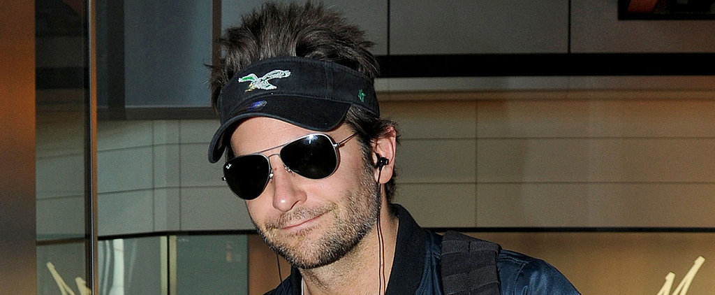 Bradley Cooper's Visor Hair Is on a Whole Other Level