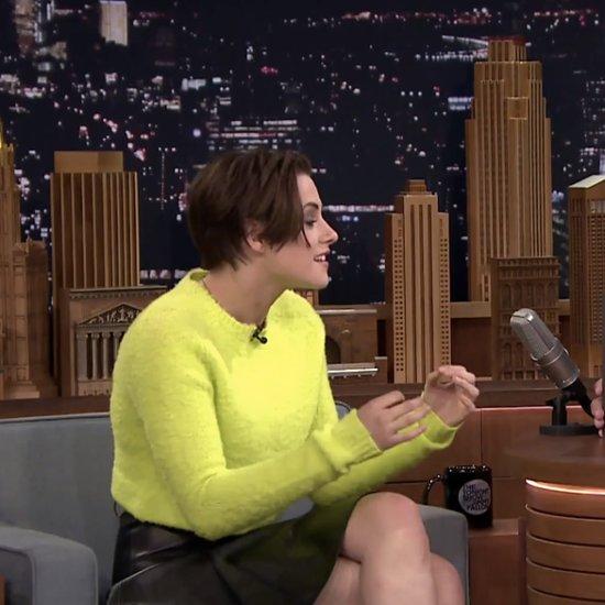 Kristen Stewart Tonight Show Interview With Jimmy Fallon