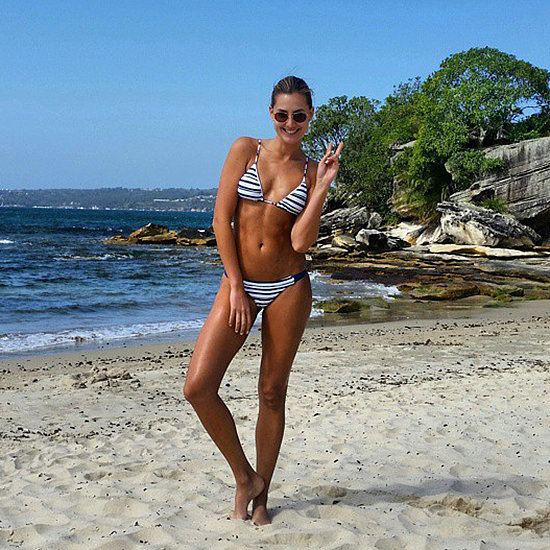 Celebrity Instagram Pictures: Jennifer Hawkins, Sam Burgess