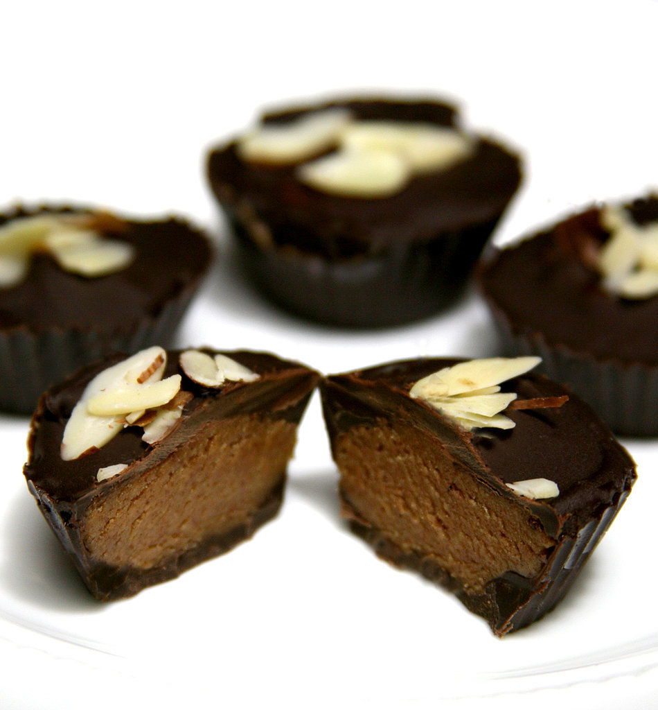 Lower-Cal Reese's Redo! Vegan Almond Butter Cups