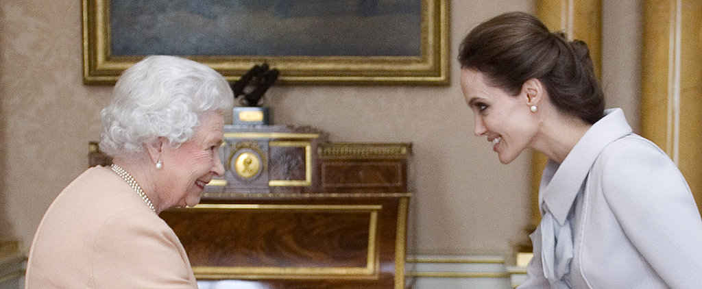 """""""Dame"""" Angelina Jolie Receives an Honorary Title From the Queen"""