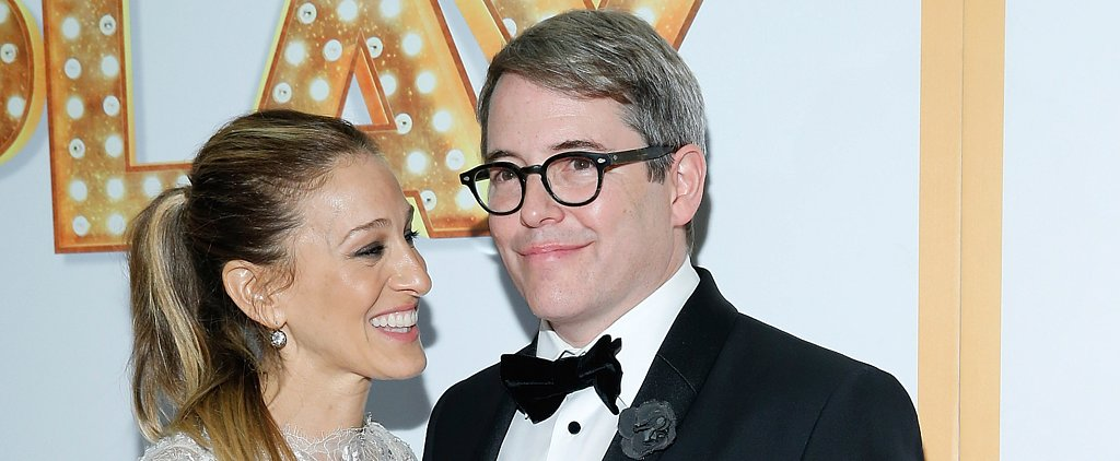 SJP Steps Out With Matthew Broderick as Sex and the City Rumors Swirl