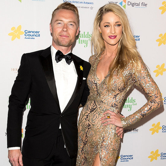 Australian Celebs Ronan Keating 2014 Emeralds And Ivy Ball