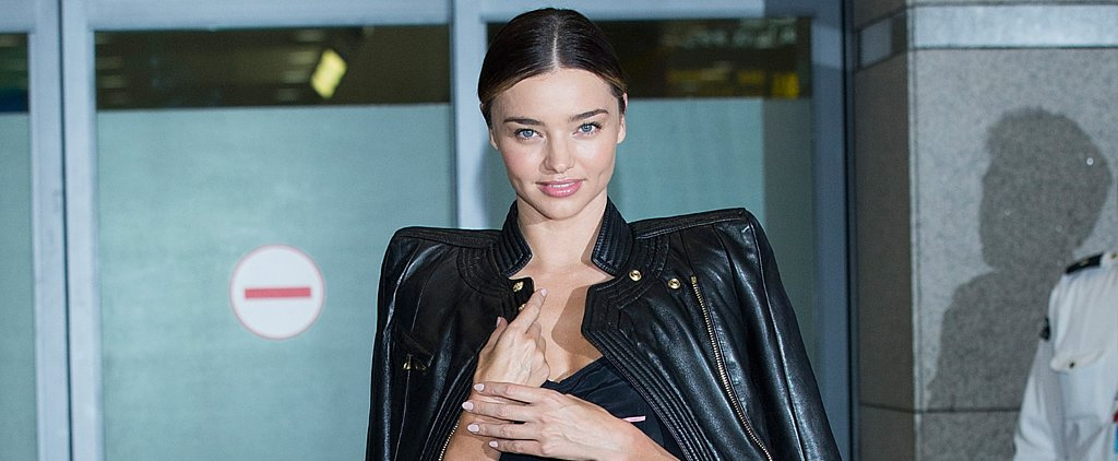 How to Take Your Floral Jumpsuit Through Fall —a Lesson From Miranda Kerr