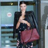 Miranda Kerr's Floral Jumpsuit Street Style