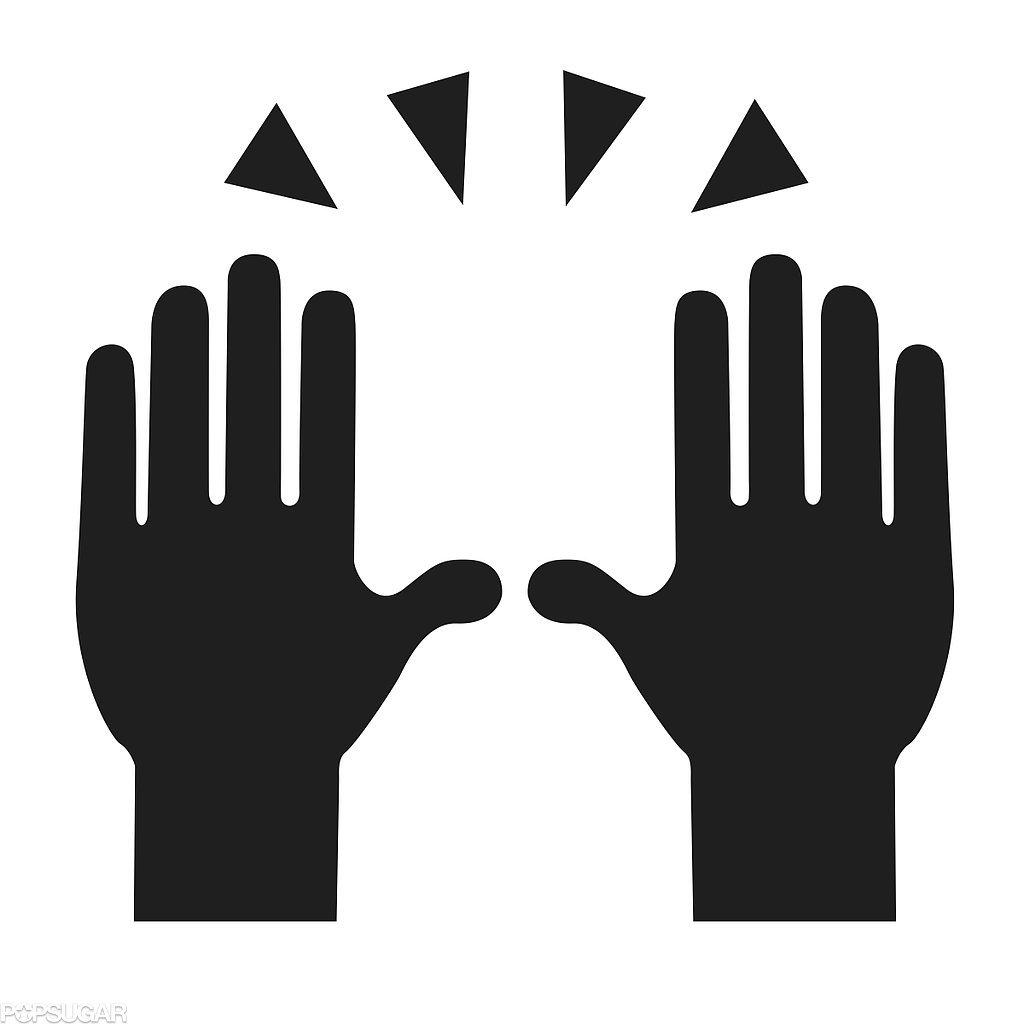 Person Raising Two Hands in Celebration Emoji Templates by Morgan Pugh