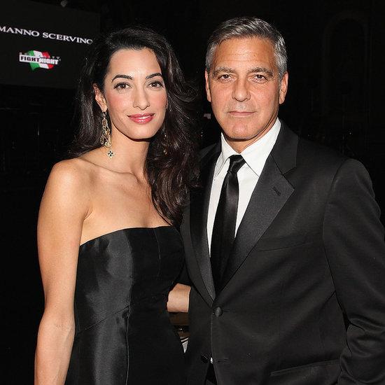 Amal Alamuddin Changes Name to Amal Clooney