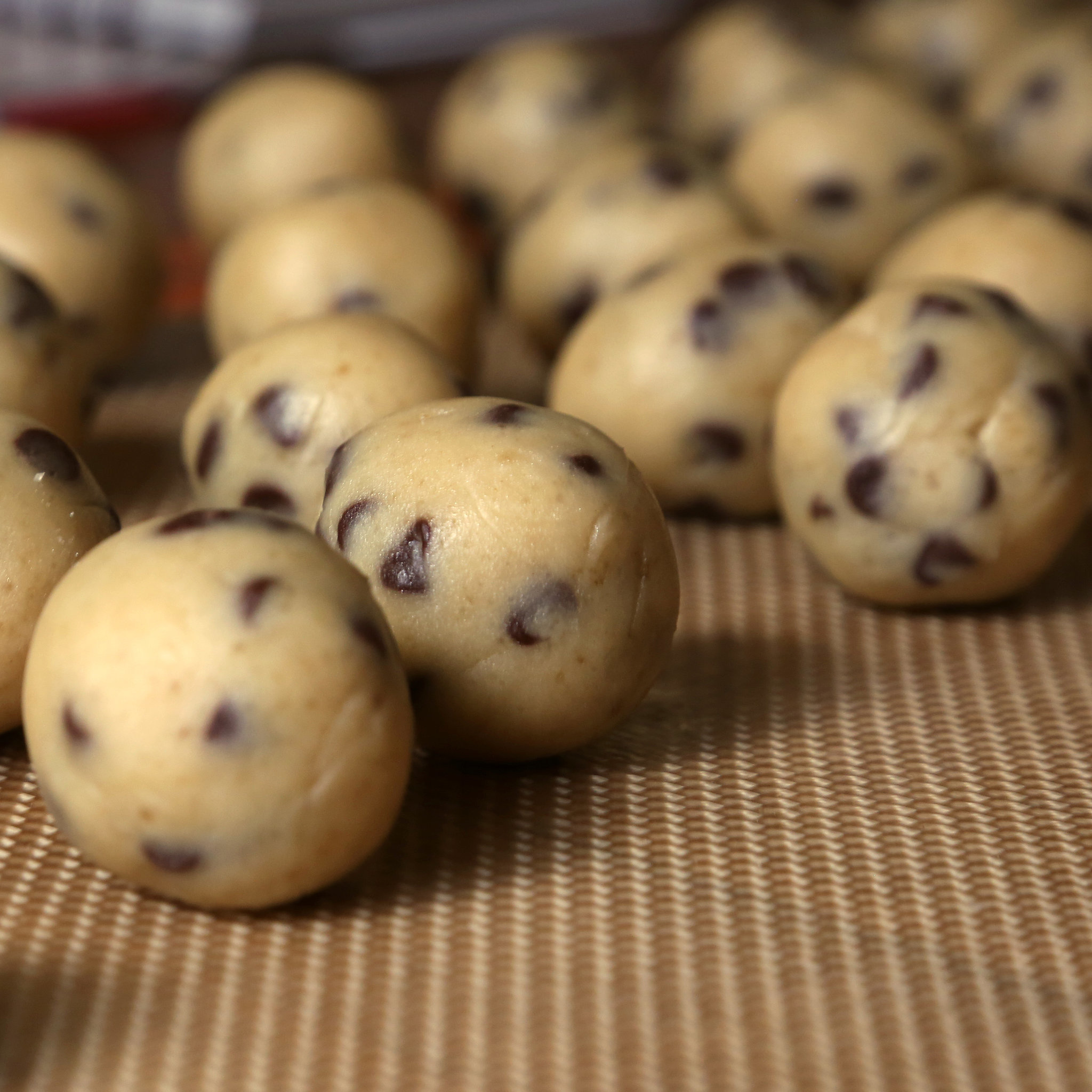 Chocolate Chip Cookie Dough Truffles | POPSUGAR Food