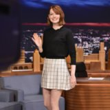 Emma Stone Just Wore a Perfect Autumn Skirt That You Can Get For Under £50